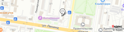 Багетная мастерская на карте Благовещенска