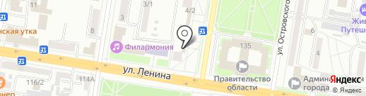 Музыкальная школа, МБУ на карте Благовещенска