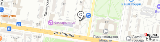 Янтарная комната на карте Благовещенска