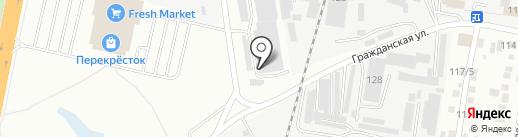 Бридер на карте Благовещенска