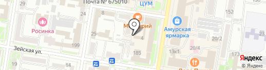 АмурБизнесСервис на карте Благовещенска
