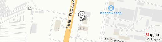 Автотехсервис на карте Благовещенска