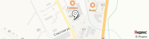 Пункт авторазбора на карте Благовещенска