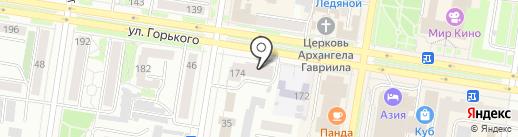 ИВТ-Логистика на карте Благовещенска