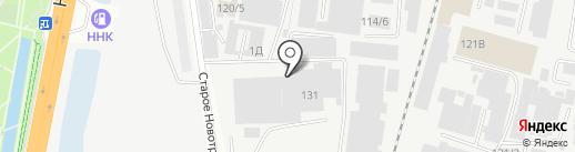 Благовещенский масложиркомбинат на карте Благовещенска