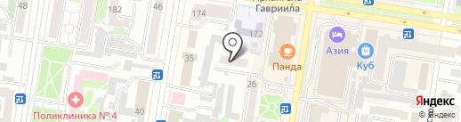Интеп на карте Благовещенска