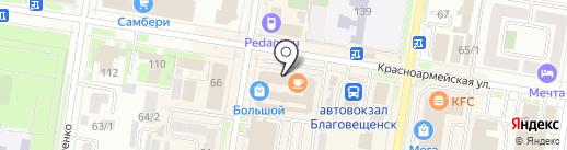 ДИЗАЙН Textile на карте Благовещенска