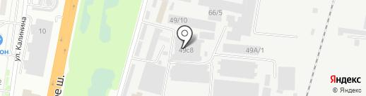 Стекольная мастерская на карте Благовещенска