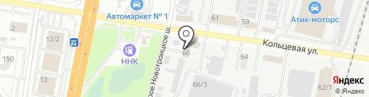 Аркон Авто на карте Благовещенска