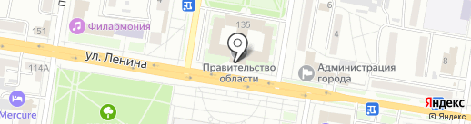 Министерство внешнеэкономических связей, туризма и предпринимательства Амурской области на карте Благовещенска