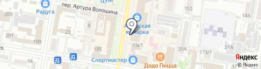 Банкомат, Банк Хоум Кредит на карте Благовещенска