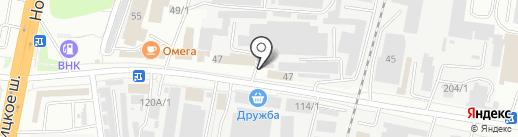 Киоск фастфудной продукции на карте Благовещенска