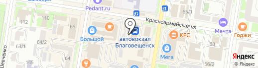 Фотосалон на карте Благовещенска