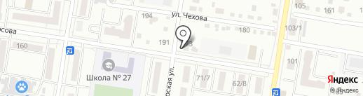 Угловой на карте Благовещенска