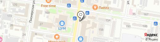 Ассорти на карте Благовещенска