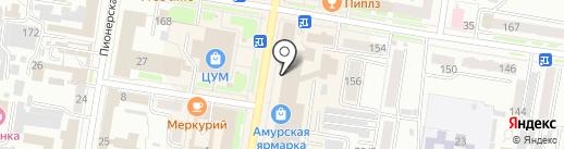 Coffee way на карте Благовещенска