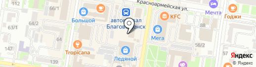 Купи зеленый чай.ru на карте Благовещенска