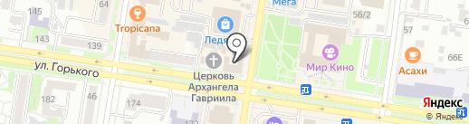 Благовещенское епархиальное управление на карте Благовещенска