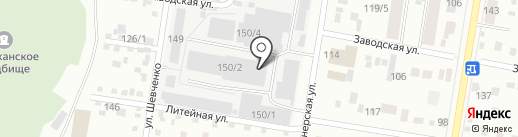 Крабс28 на карте Благовещенска