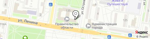 Региональная общественная приемная председателя партии Медведева Д.А. на карте Благовещенска