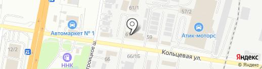 Подшипникцентр на карте Благовещенска