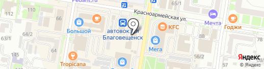 DNS SMART на карте Благовещенска