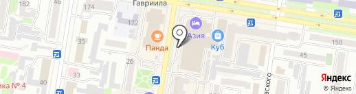 Green coat на карте Благовещенска