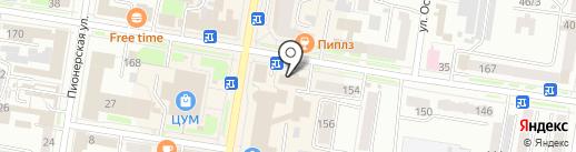 Центр обеспечения гражданской защиты и пожарной безопасности Амурской области на карте Благовещенска