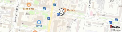 Учебно-методический центр по гражданской обороне, чрезвычайным ситуациям и пожарной безопасности Амурской области на карте Благовещенска