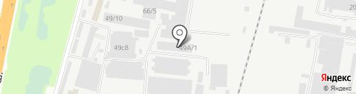 Ламарт на карте Благовещенска