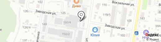 Саната-Опт на карте Благовещенска