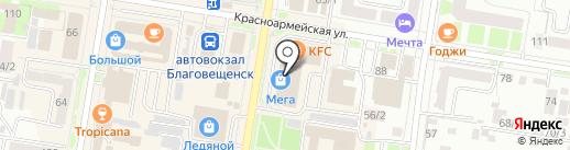 Фототеатр на карте Благовещенска