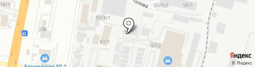 Благовещенский автоцентр на карте Благовещенска