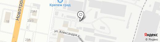 Курьер-Благ на карте Благовещенска