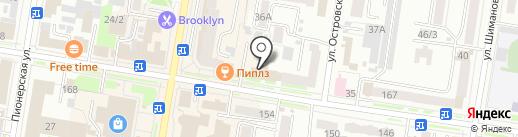 Квин Тревел на карте Благовещенска