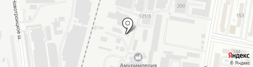 Амурторг на карте Благовещенска
