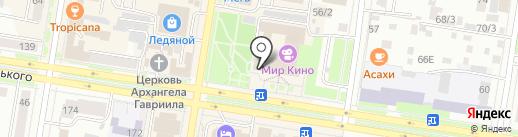 Амурская жемчужина на карте Благовещенска