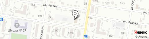 Любавушка на карте Благовещенска