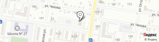 Sneaker BLG на карте Благовещенска