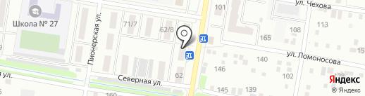 Адвокатский кабинет Зенченко А.В. и Цеона С.А на карте Благовещенска