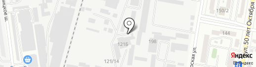 Инженерная компания на карте Благовещенска