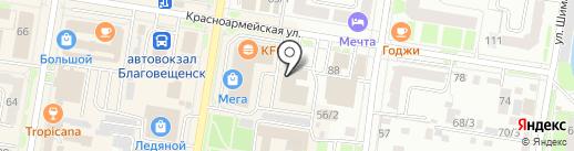 VIVO на карте Благовещенска