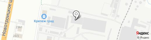 Грузсервис на карте Благовещенска