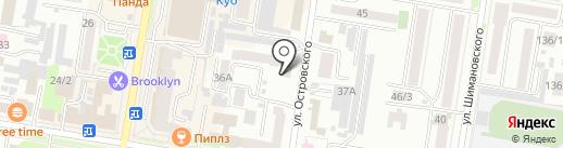 Школа восточных языков, НУДО на карте Благовещенска
