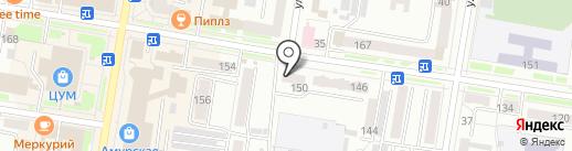 СБЕРИНВЕСТ на карте Благовещенска