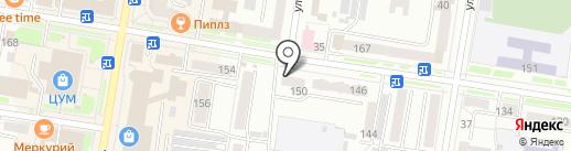 Земельно-правовой центр на карте Благовещенска