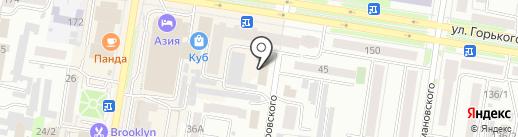 Перспектива ДВ на карте Благовещенска