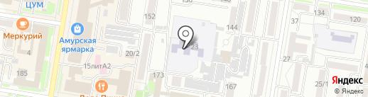Детский сад №46 на карте Благовещенска