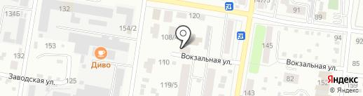 Ульянушка на карте Благовещенска