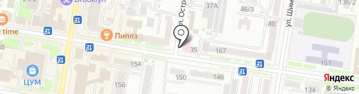 Амурская областная стоматологическая поликлиника на карте Благовещенска